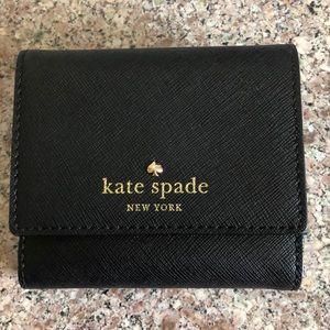 Black Kate Spade Bi-Fold Wallet